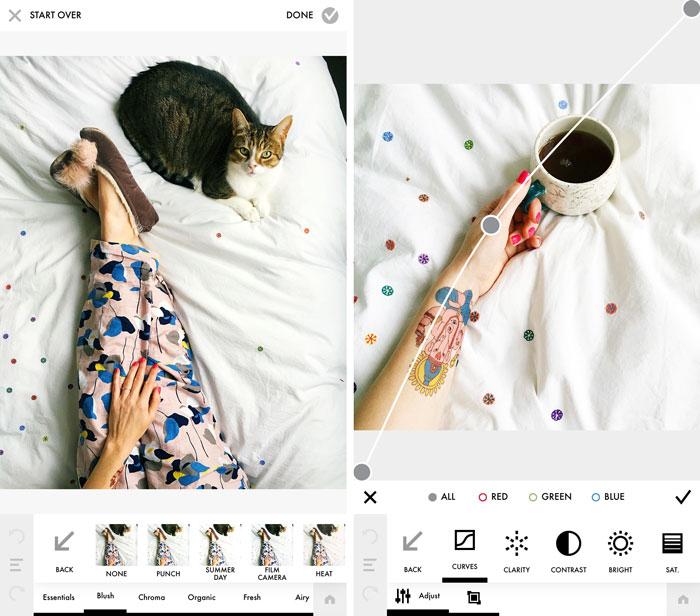 Instagram'da daha iyi resimler oluşturmak için fotoğraf editörleri -  Paylaşım Park