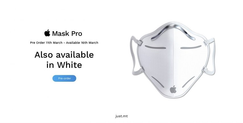 Apple Mask Pro Face Mask