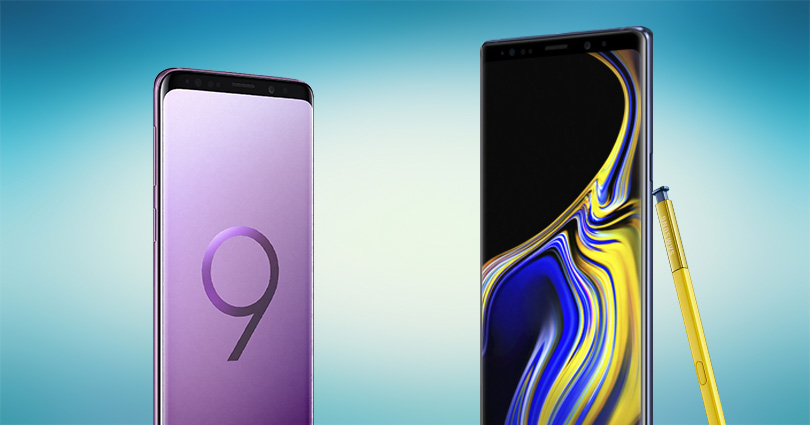 Android 10 update released for Galaxy S9, S9+ Note 9