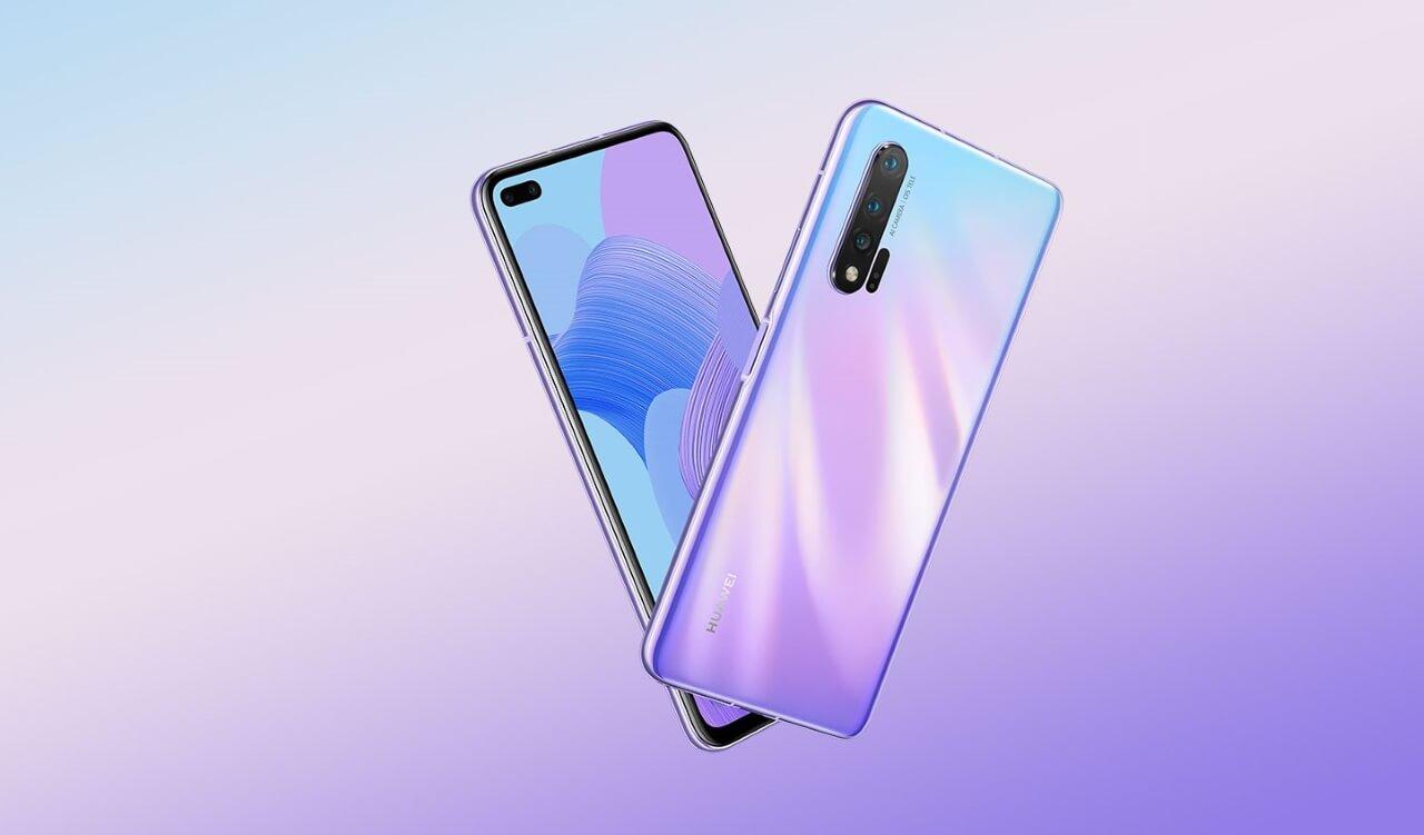 Huawei Nova 7 5G İlk Güncellemesini Aldı