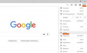 Microsoft Edge Uzantıları Kaldırma veya Devre Dışı Bırakma - 1