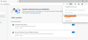 Microsoft Edge Uzantıları Kaldırma veya Devre Dışı Bırakma - 4