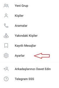 Telegram'da Kişi Paylaşımını Durdurun